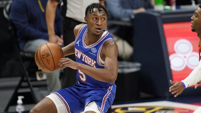 The former John Carroll and Kentucky star from Bel Air has averaged 11.4 points per game as a rookie after being a surprise No. 25 overall pick in the draft. He's a potential All-Rookie candidate, helping the Knicks get back to the playoffs for the first time since the 2012-13 season. The No. 4 seed Knicks take on the No. 5 seed Atlanta Hawks in the first round of the Eastern Conference playoffs.