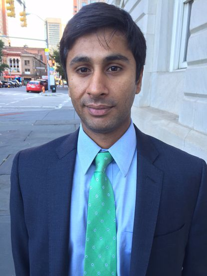 Sameer Sidh is the new director of Baltimore's CitiStat agency.