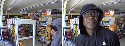 Baltimore County Police are seeking the identities of two men who allegedly arm robbed a Rosedale Family Dollar.