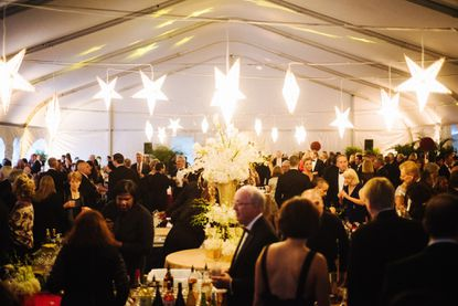 The scene in the tent for the 2014 BSO Gala