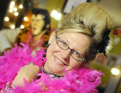 Denise Whiting, pictured in this 2010 photo, is preparing for this year's HonFest after a tumultuous year.
