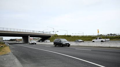 The recently competed $33 million upgrade of the Route 40 and 715 interchange leading to Aberdeen Proving Ground was dedicated by state, county, local and Army officials on Monday.