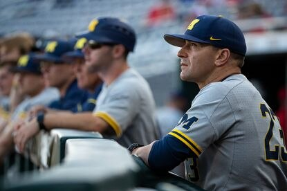 Before guiding the University of Michigan baseball program to six years of 30-plus wins in seven seasons, including the College World Series in June, Erik Bakich was the skipper at the University of Maryland from 2010-12.