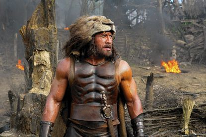 Dwayne Johnson as Hercules in the new film from Paramount Pictures and Metro-Goldwyn-Mayer Pictures.