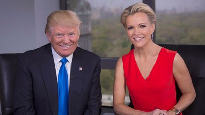 After months of enduring Donald Trump's insults, Fox News anchor Megyn Kelly interviewed the Republican presidential candidate in a prime-time special that aired Tuesday on the Fox broadcast network.