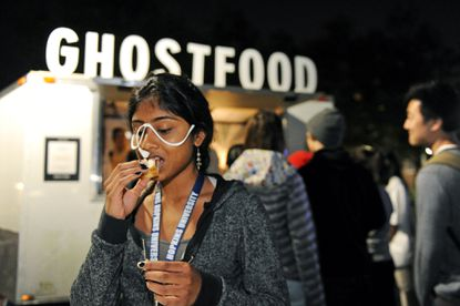 GhostFood truck provides food for thought about climate
