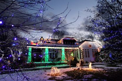 Bill and Bonnie Ariano decorated their home at on Gittings Ave. every Christmas season since 1992.