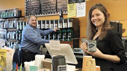 Greg Coster and wife Christie Sappington Coster, are the new owners of The Big Bean in Olde Severna Park.