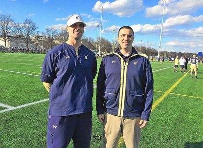 Preston Pehrson, resigned as Navy's Director of Player Personnel to take a similar position at the University of Houston. Pehrson is a Broadneck High graduate.