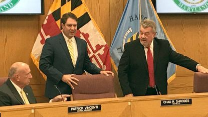 Harford County Council begins term with new president, three new members
