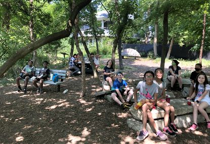 Campers partake in Annapolis Maritime Museum and Park's 2020 summer camp