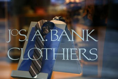 Men's Wearhouse aims to broaden the appeal of the Jos. A. Bank chain it acquired last year by broadening its inventory.