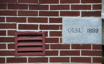 This lime cornerstone was laid and blessed by Father Alexis Toth, who later became a Saint, in 1899, marking the birth of the Holy Trinity Orthodox Catholic Church in North Catasauqua. After 121 years, the small parish decided to close its doors, facing declining membership only worsened by the coronavirus pandemic.