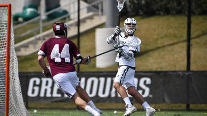 Pat Spencer, a senior attackman for the Loyola Maryland men's lacrosse team, became the first NCAA Division I player since 2015 to total at least 10 points in back-to-back games when he compiled 11 points in a 15-9 victory over then-No. 15 Lehigh on Saturday.