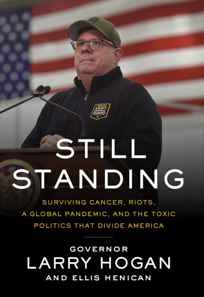 Maryland Gov. Larry Hogan's memoir — delayed by the coronavirus pandemic — is coming out at the end of the month.