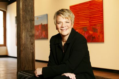 Baltimore Symphony Orchestra music director Marin Alsop.
