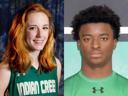Megan Bunker (Indian Creek) and Ali Ilupeju (Arundel) are the Anne Arundel County Athletes of the Week.