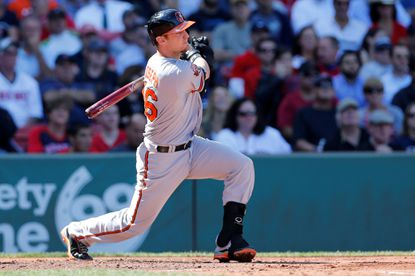 Caleb Joseph brings his hot bat to Camden Yards as the Orioles open a four-game series against the Boston Red Sox on Friday night.
