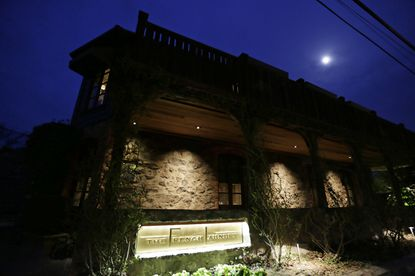 In this March 9, 2017, file photo, is the French Laundry restaurant in Yountville, Calif. California Gov. Gavin Newsom said in a statement Friday, Nov. 13, 2020, that he should not have attended a birthday dinner with a dozen people at the posh French Laundry restaurant, saying that he should have set a better example for a virus-fatigued state that is seeing steep increases in coronavirus cases. Newsom's decision to attend was made as he's been telling others to not mingle with others outside their households. (AP Photo/Eric Risberg, File)