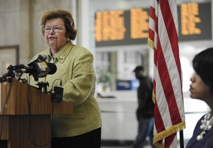 Mikulski child care bill poised for final approval
