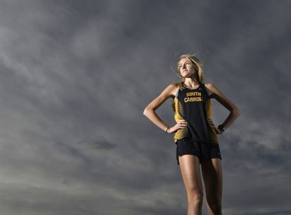 South Carroll junior Grace Siehler is the 2019 Carroll County Times Girls Cross Country Runner of the Year.