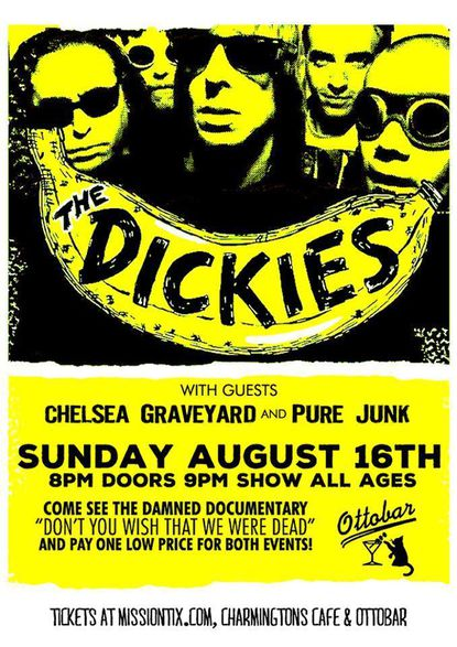 Happening Sunday: The Dickies, The Rhythm Future Quartet