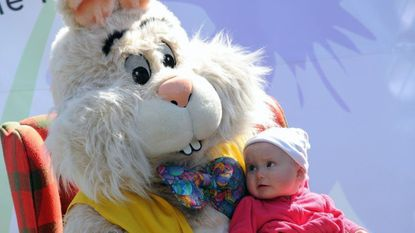The annual Bunny BonanZOO runs April 19-21 at the Maryland Zoo in Baltimore.