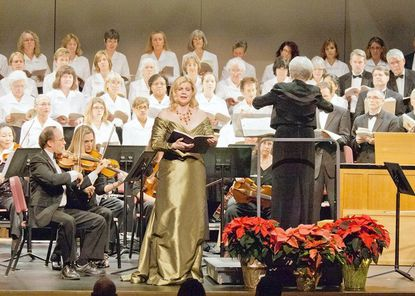 """Mezzo-soprano Mary Ann McCormick is one of the many soloists that appeared in """"Messiah"""" last year and is back for the Dec. 2 performance."""