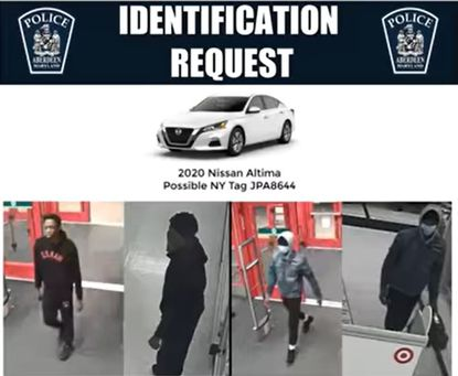 Aberdeen Police are looking for information about two individuals who stole approximately $4,200 worth of electronics from the Target on Middelton Road earlier this month.