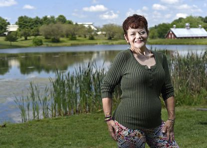Michele Bizzarri-Heim of Westminster has battled with her weight and mental health for the past 16 years. She has lost over 300 pounds due to a gastric bypass surgery and has completely turned her life around. She hopes to inspire others who are struggling and suffering as she once was.