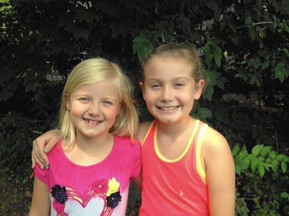 Lutherville sisters Carly, 8, and Ella, 9, Mitchell will hold a car wash with their mom, Melanie, and dad, Reid, to raise money for the Assistance Center for Towson Churches, a nonprofit food bank, on Aug. 29 at the Exxon Mobil Gas Station at York and Seminary roads.