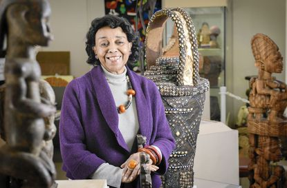 Doris Ligon is the director of the African Art Museum of Maryland located in the Maple Lawn development in Fulton, Maryland.