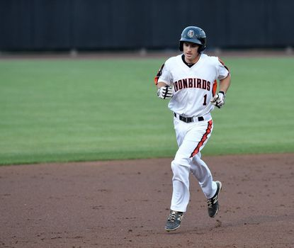 Aberdeen's Adam Hall hit his first home run of the season Saturday, aiding the IronBirds 8-1 win over Hudson Valley.