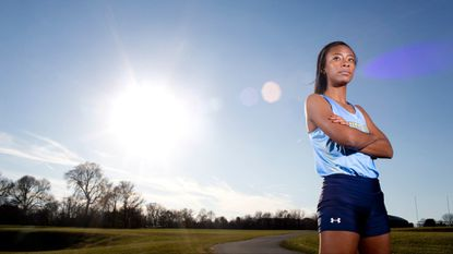 River Hill senior Jasmine Tiamfook, who won county and regional titles for the second straight season, is the Howard County girls cross country Runner of the Year.