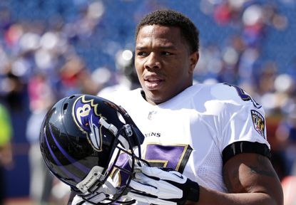Ravens running back Ray Rice, his legacy and football mortality