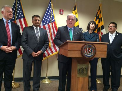 Hogan names ex-GOP Senate leader as budget chief