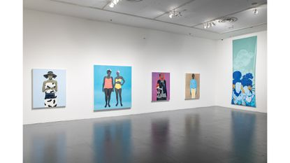"""""""About Face"""" at the Creative Alliance carves out room for a new kind of canonical portraiture"""