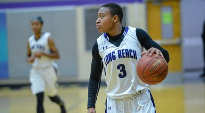 Williams embracing leading role for unbeaten Long Reach girls basketball