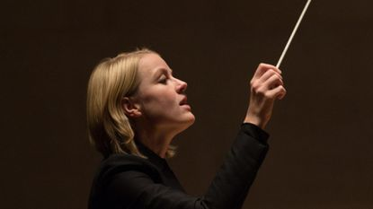 Ruth Reinhardt makes her conducting debut with the Baltimore Symphony Orchestra, leading a series of concerts featuring the work of Wennäkoski, Schubert and Brahms on Nov. 8.
