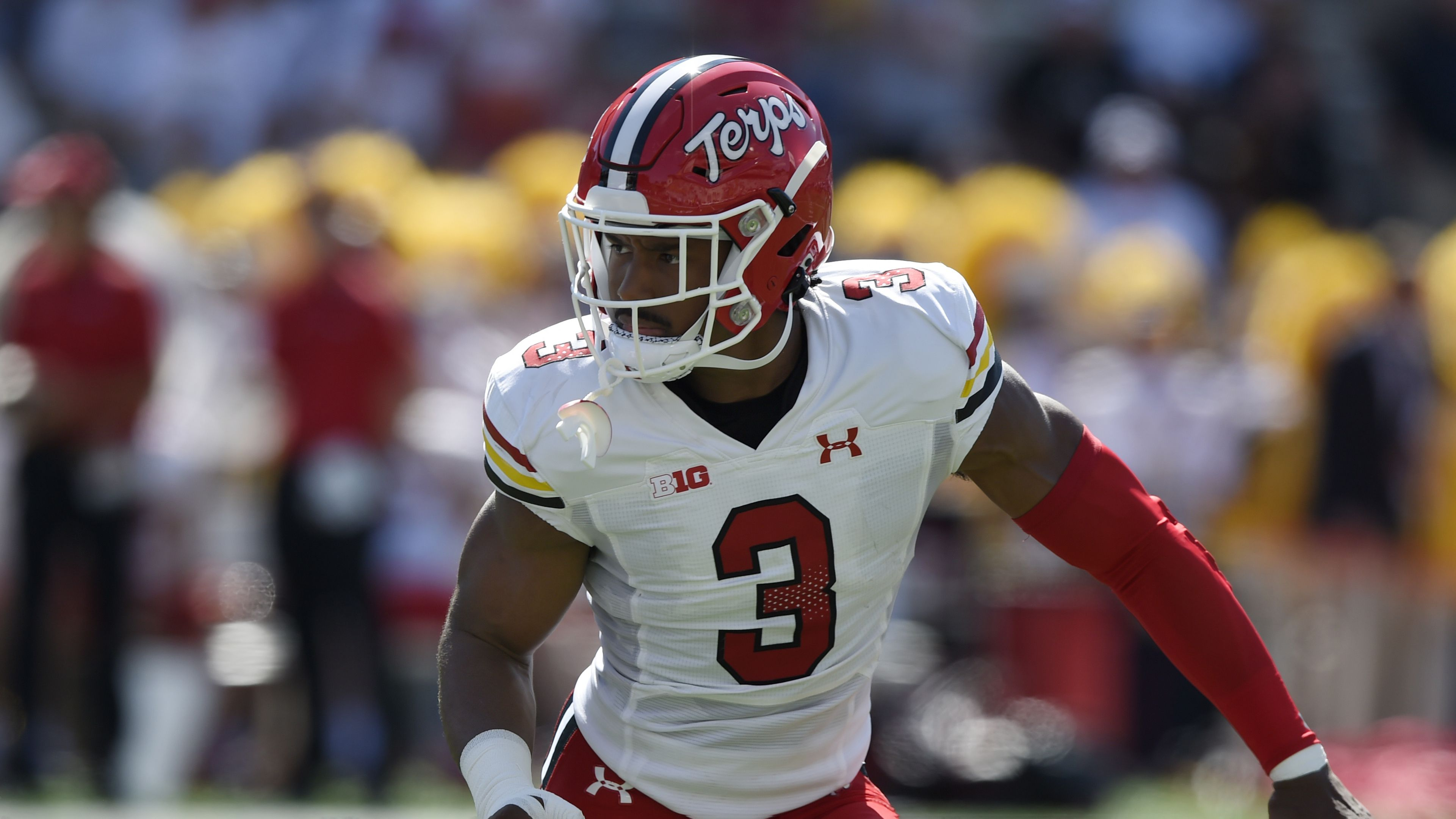 Maryland safety Nick Cross learned football by watching YouTube. Now he's thinking about the NFL.