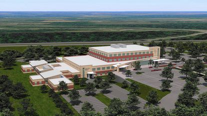 University of Maryland Upper Chesapeake Health, with plans to build a new medical center in Havre de Grace, pictured above, recently received a major grant to work toward transforming the health of its community.
