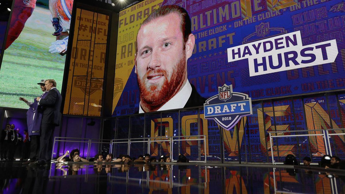 159aba5d Five things to know about Ravens first-round draft pick Hayden Hurst ...