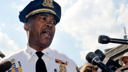 Melvin T. Russell, a deputy police commissioner in Baltimore, was one of six people interviewed by a panel of experts looking and possible candidates to become the city's police commissioner, sources said.