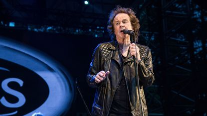 Colin Blunstone of the Zombies performing in Quebec City, Canada, on July 6. The Zombies performed at the Birchmere in Alexandria, Va., on Monday night.