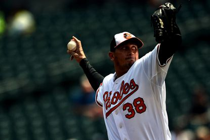 Freddy Garcia dropped to 0-2 after losing in his third start in an Orioles uniform Wednesday at home against San Diego.