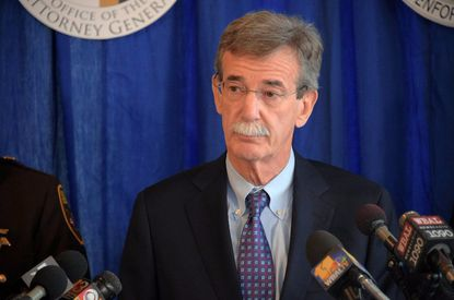 Maryland Attorney General Brian E. Frosh is one of eleven Democratic state attorneys general to sue President Donald Trump's administration over its decision to delay implementation of an Obama-era rule.