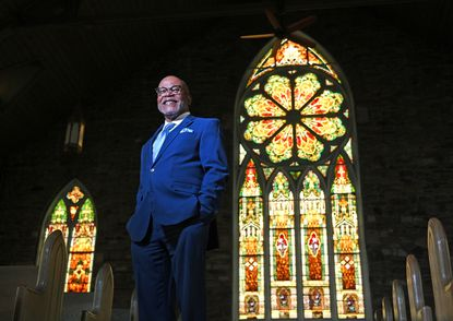 Alvin Hathaway Sr., retired pastor of Union Baptist Church, is a 2021 inductee into The Baltimore Sun's Business and Civic Hall of Fame.