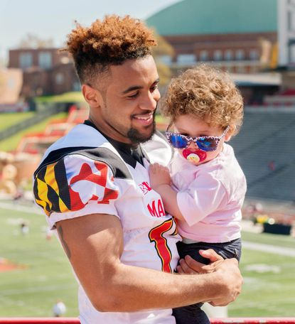 DeAndre Lane and his daughter, Kylie.