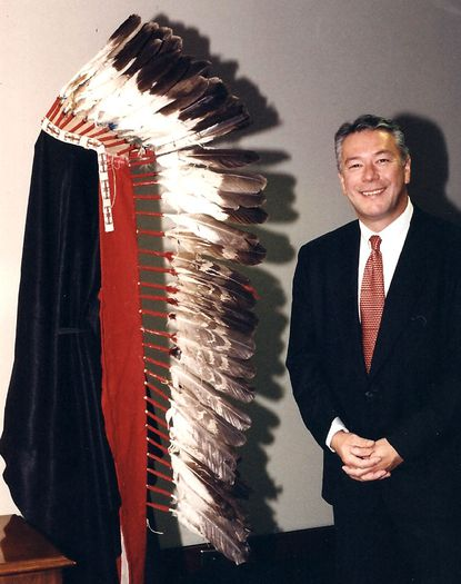 """""""Geronimo's war bonnet"""" (recovered in 1998) and Robert Wittman, who helped develop the FBI's Art Crime Team and now owns a private art recovery company outside Philadelphia."""