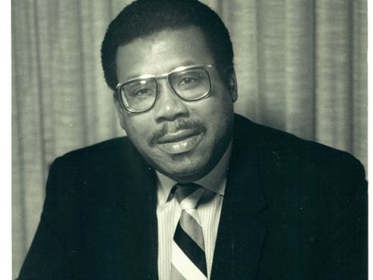 The Rev. St George I.B. Crosse was a regular figure on Baltimore radio for more than two decades.